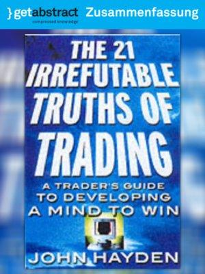 cover image of 21 unbestrittene Wahrheiten des Börsenhandels (Zusammenfassung)