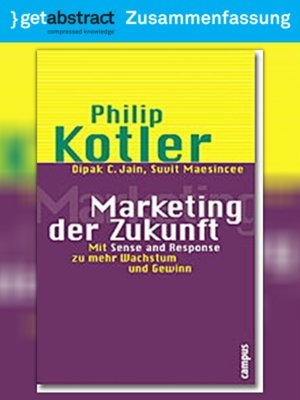 cover image of Marketing der Zukunft (Zusammenfassung)
