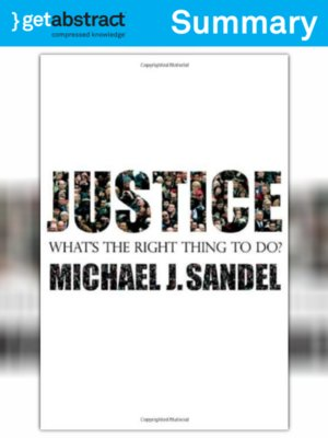 cover image of Justice (Summary)