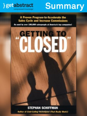 cover image of Getting to Closed (Summary)