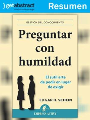 cover image of Preguntar con humildad (resumen)