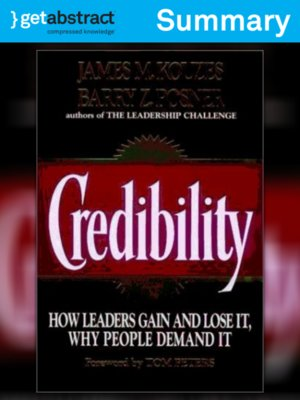 cover image of Credibility (Summary)