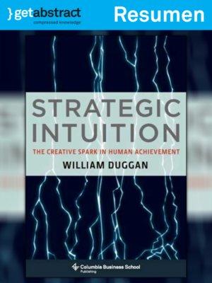 cover image of Intuición Estratégica (resumen)