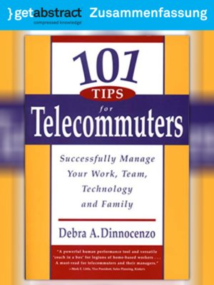 cover image of 101 Tipps für Telearbeitende (Zusammenfassung)