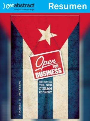 cover image of Abierta a los negocios (resumen)