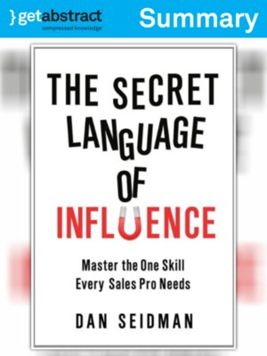 cover image of The Secret Language of Influence (Summary)