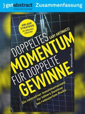 cover image of Doppeltes Momentum für doppelte Gewinne (Zusammenfassung)