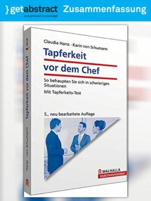 cover image of Tapferkeit vor dem Chef (Zusammenfassung)