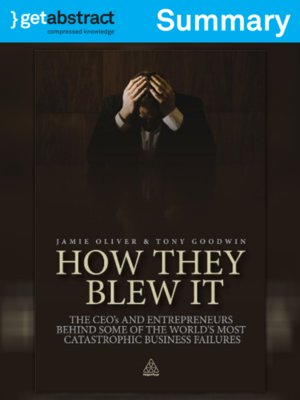 cover image of How They Blew It (Summary)