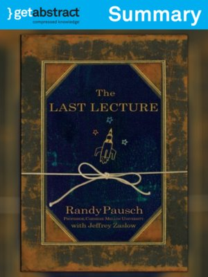 cover image of The Last Lecture (Summary)