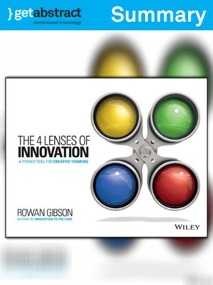 cover image of The 4 Lenses of Innovation (Summary)