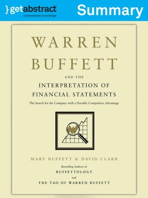 cover image of Warren Buffett and the Interpretation of Financial Statements (Summary)