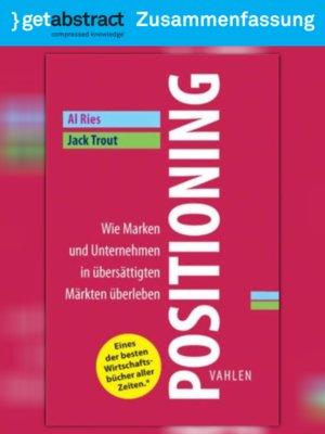 cover image of Positioning (Zusammenfassung)