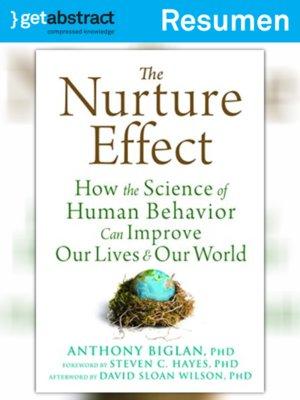 cover image of El efecto maternal (resumen)
