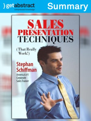 cover image of Sales Presentation Techniques (Summary)