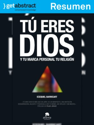 cover image of Tú eres Dios (resumen)