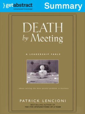 cover image of Death By Meeting (Summary)