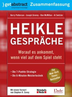 cover image of Heikle Gespräche (Zusammenfassung)