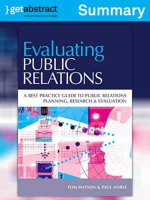 cover image of Evaluating Public Relations (Summary)