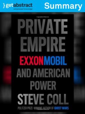 cover image of Private Empire (Summary)
