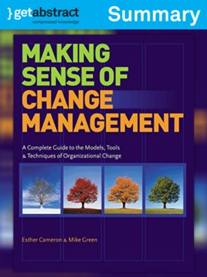 cover image of Making Sense of Change Management (Summary)