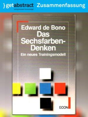 cover image of Das Sechsfarben-Denken (Zusammenfassung)