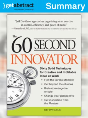 cover image of The 60 Second Innovator (Summary)