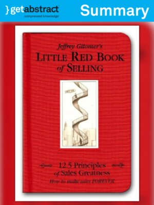 cover image of Jeffrey Gitomer's Little Red Book of Selling (Summary)