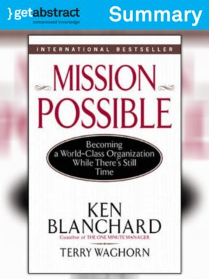 cover image of Mission Possible (Summary)
