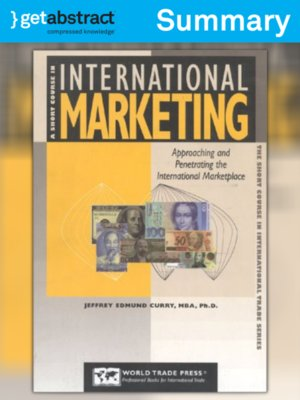 cover image of A Short Course in International Marketing (Summary)