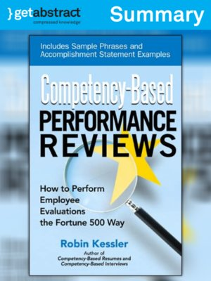 cover image of Competency-Based Performance Reviews (Summary)