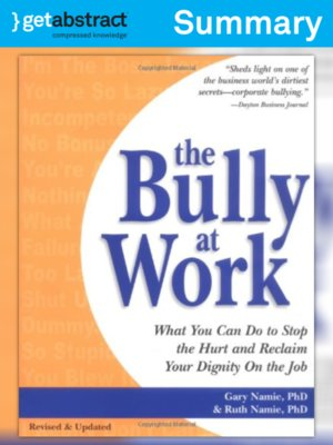 cover image of The Bully at Work (Summary)