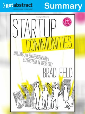 Brad feld book startup communities