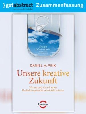 cover image of Unsere kreative Zukunft (Zusammenfassung)