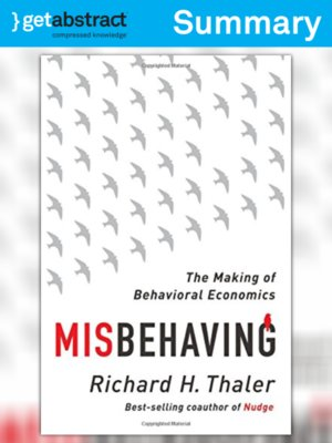 cover image of Misbehaving (Summary)