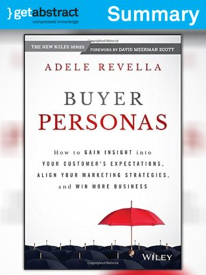 Buyer personas adele revella pdf