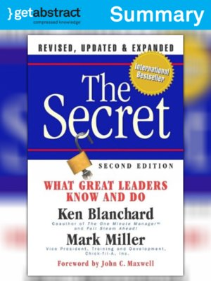 cover image of The Secret (Summary)