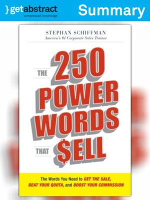 cover image of The 250 Power Words That Sell (Summary)