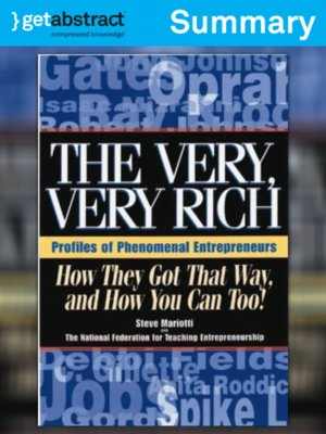cover image of The Very, Very Rich (Summary)