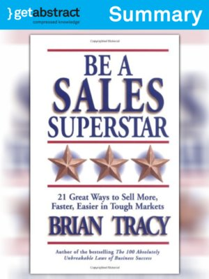 cover image of Be A Sales Superstar (Summary)