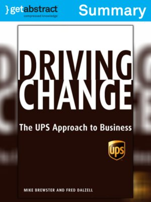 cover image of Driving Change (Summary)