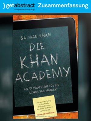 cover image of Die Khan Academy (Zusammenfassung)