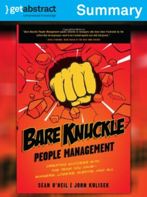 cover image of Bare Knuckle People Management (Summary)