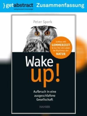 cover image of Wake up! (Zusammenfassung)