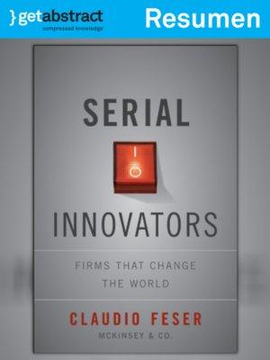 cover image of Innovadoras en serie (resumen)
