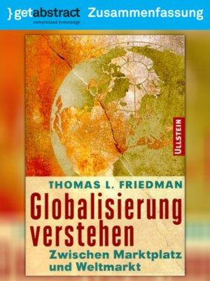 cover image of Globalisierung verstehen (Zusammenfassung)