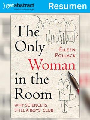 cover image of La única mujer en el aula (resumen)