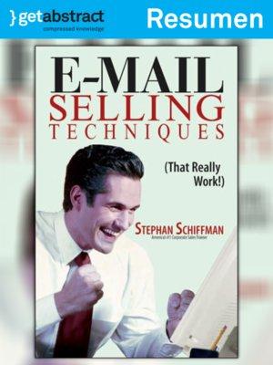cover image of Técnicas de venta por correo electrónico (resumen)