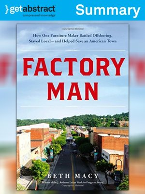 cover image of Factory Man (Summary)