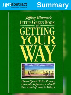 cover image of Little Green Book of Getting Your Way (Summary)